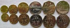 Macau set of 6 coins 1993-2008 (10+20+50 avos + 1+2+5 pataca) UNC