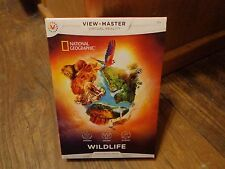2015 MATTEL--VIEW MASTER VIRTUAL REALITY NATIONAL GEOGRAPHIC WILDLIFE PACK (NEW)