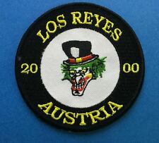 Los Reyes Austria 2000 Collectible Biker Jacket Vest Hat Travel Patch