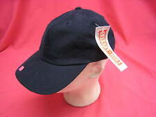 NEW VINTAGE NAVY MICROFIBER STYLE UNSTRUCTURED HAT 60% NYLON 40% POLYESTER (N1)