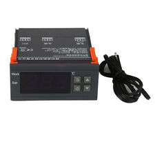 90~250V 10A Digital Temperature Controller w/Sensor Thermostat, -50℃ ~110℃