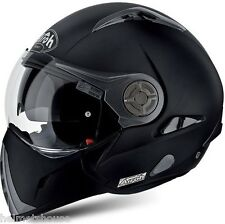 CASCO MODULARE AIROH J106 NERO OPACO MATT BLACK FLIP UP HELMET HELME CASQUE L