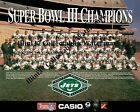 1968 NEW YORK JETS NFL SUPER BOWL 3 III CHAMPIONS 8X10 TEAM PHOTO