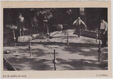 1948  --  LANDES   JEU DE QUILLES DE NEUF   3J471