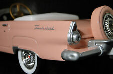 1956 Ford Thunderbird Pedal Car A Vintage Hot T Rod Midget Metal Show Model 1955