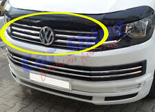 VW T6 Transporter CHROME GRILLE BARS - 15on - 4pcs