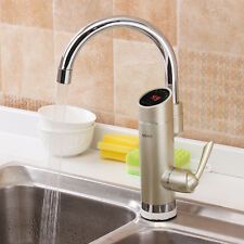 Digital Display Instant Tankless Electric Water Heater Kitchen Sink Faucet Tap