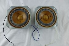 KLH MODEL FIVE (5) MIDRANGE SPEAKERS - MATCHED PAIR - Tested - Sound Great -1968