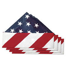 4th de juillet independence day party pack. 4 x star spangled american bandanas