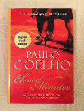 Eleven Minutes by Paulo Coelho/Signed First Edition
