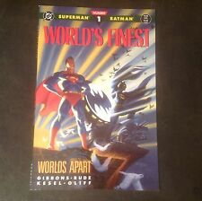 World's Finest 1 1990 (1 of 3) Worlds Apart New & Unread 9.4+ NM