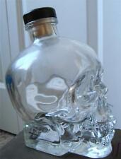 ✨ CRYSTAL HEAD Ghostbusters Dan Aykroyd empty Skull Vodka 750ml Skeleton Bottle