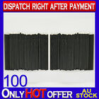 100 x Eyeliner Disposable Makeup Brush Eye Liner Lash Eyebrow Cosmetics Eyelash