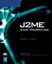 NEW ~ J2ME GAME PROGRAMMING w/SEALED CD ~ by Martin Wells (2004, Mixed Media)