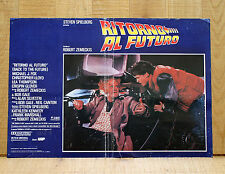 RITORNO AL FUTURO fotobusta poster Back to the future Michael J. Fox Lloyd 1985