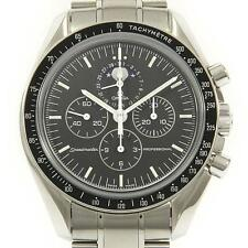 Authentic OMEGA REF. 3576 50 Speedmaster Moonphase Manual winding  #260-001-0...