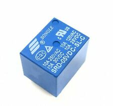 5PCS RELAY 5V SRD-5VDC-SL-C T73-5V SONGLE Power Relay NEW
