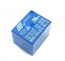 5PCS RELAY 5V SRD-5VDC-SL-C T73-5V SONGLE Power Relay NEW