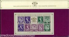 GB Presentation Pack 80 50th Anniversary Country Definitives M/S 2008 10% OFF 5+