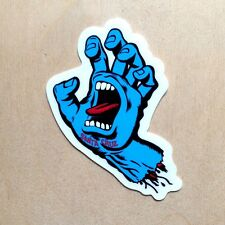 NHS Santa Cruz screaming hand sticker Jim Phillips Powell Vision skateboard