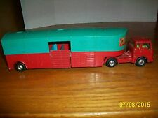 Vintage Corgi Chipperfield Circus Articulated Horse Box made in Great Britain