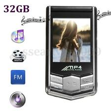 "32GB Portable MP4 Music Player 1.8"" LCD Screen FM Radio MP3 Video Games Movies"
