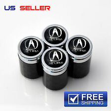 CARBON FIBER ACURA  VALVE STEM CAPS WHEEL TIRE - US SELLER VC04