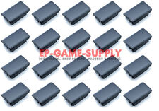 Lot 20 x Black Battery Pack Holder Cover Shell for XBOX 360 Wireless Controller
