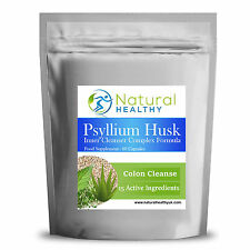 60 Psyllium Husk Complex - High Quality Diet pills - Detox Cleanse Weight loss