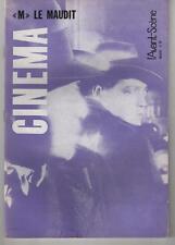 L'AVANT-SCENE n°39 Fritz Lang M LE MAUDIT 1964