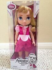"Disney Store ANIMATORS COLLECTION AURORA SLEEPING BEAUTY 16"" H DOLL NEW"