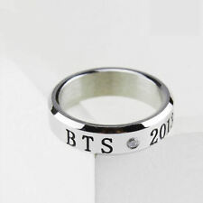 Korean  BTS Bangtan Boys Bulletproof Boy Scouts Kpop Stainless Steel Ring Gift