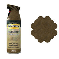 x1 Rust-Oleum Universal All-Surface Spray Paint 400ml Any Angle Brown Hammer