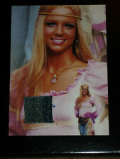 BRITNEY SPEARS ULTRA RARE AUTHENTIC COSTUME CARD BS2 GLOBAL DNA COA 2002