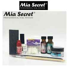 MIA SECRET - Clear ACRYLIC NAIL System STARTER KIT (FREE GLOBAL SHIPPING)
