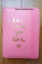Kikki K MEDIUM Live What You Love watermelon 2016 planner agenda diary BRAND NEW