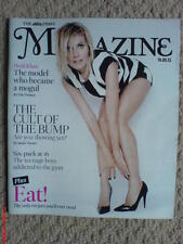 THE TIMES MAGAZINE NEW HEIDI KLUM COVER FASHION BEAUTY FOOD DRINK