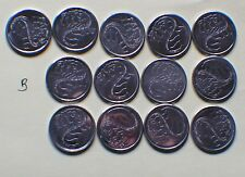 """Qty (1) Canada 2001 """"VOLUNTEER"""" ten cents 10c dime coin"""