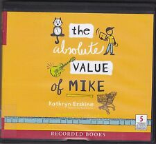 The Absolute Value of Mike by Kathryn Erskine (2011, CD, Unabridged) Age 11+
