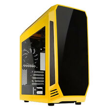 BITFENIX AEGIS CORE YELLOW USB3 ATX mATX COMPUTER GAMING CASE WITH SIDE WINDOW