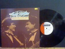 EVERLEY BROTHERS Reuion Concert   DOUBLE LP    GREAT!