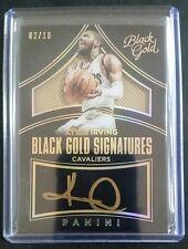 2015-16 Black Gold #BG-KIV KYRIE IRVING 02/10 Jersey# Auto Cleveland Cavaliers