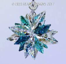 UNIQUE RARE Suncatcher m/w Swarovski Indicolite SUPER STAR Lilli Heart Designs