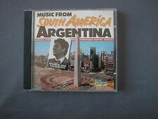 CD MUSIC FROM SOUTH AMERICA - ARGENTINA Mauricio Jerez y su Quinteto