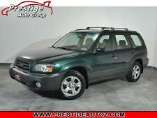 Subaru: Forester 4 dr 2.5 X