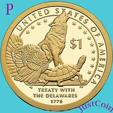 2013-P NATIVE AMERICAN SACAGAWEA GOLDEN DOLLAR FROM UNCIRCULATED U.S. MINT ROLL