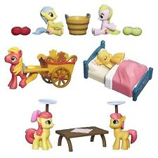 My Little Pony Friendship Is Magic Collection Apple Family 4 Figure Set LOT