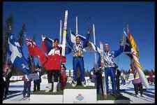 441034 biatlón medallistas A4 Foto Impresión