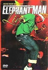 Elephant Man - Elephant Man Live DVD New