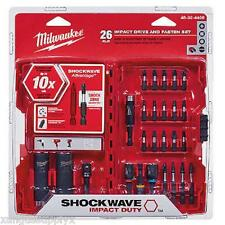 Milwaukee 48-32-4408 Shockwave Impact Drive & Fasten Heavy Duty Bit Holder Set